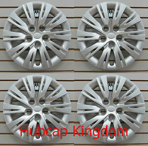 New 2012 2014 Toyota Camry 16 Hubcap Wheelcover Set Of 4 Silver