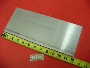1 2 X 5 Aluminum 6061 Flat Bar 12 Long Solid T6511 New Extruded Mill Stock