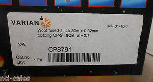 Varian Gas Chromatography Wcot Fused Silica Gc Column Cp8791