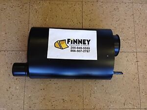 John Deere Jd 344g 444g Wheel Loader Loader Exhaust Muffler At47110 Turbo