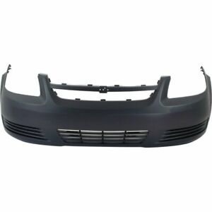 Front Bumper Cover For 2005 2010 Chevrolet Cobalt Base Ls Primed Plastic