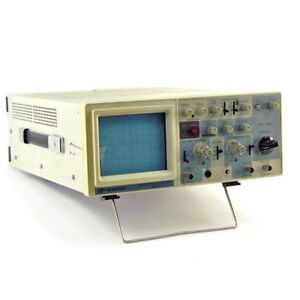 Bk Precision 20mhz Oscilloscope 2120a Cracked Screen