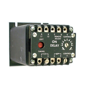 Issc Industrial Solid State Controls On Delay Timer Relay 1013 1l1b