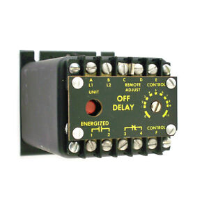 Issc Industrial Solid State Controls Off Delay Timer Relay 1013 1d2b