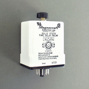 Magnecraft Solid State Time Delay Relay W211acpsrx 5