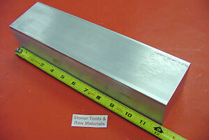 2 X 3 Aluminum 6061 Flat Bar 12 Long Solid Extruded T6511 New Mill Stock