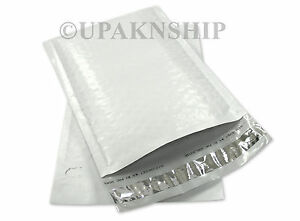 250 0 Poly Bubble Mailers Plastic Envelopes 6 5x10 Dvd Air Jacket Brand
