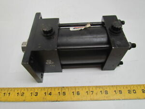 Schrader Bellows Pneumatic Air Cylinder 2 1 2 Bore 2 Stroke Nfpa W cushions