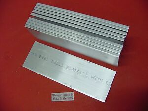 10 Pieces 1 4 X 3 Aluminum Flat Bar 9 Long 6061 T6511 250 Plate Mill Stock