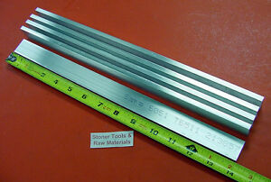 5 Pieces 1 4 X 1 Aluminum 6061 T6511 Solid Flat Bar 14 Long New Mill Stock
