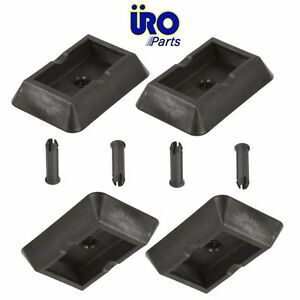 For Bmw E38 E39 E53 X5 Set Of 4 Jack Plug Cover Pads Uro 51 71 7 001 650
