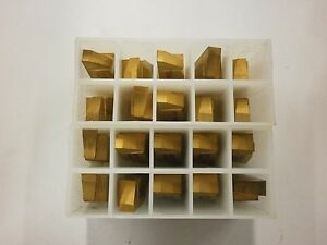 Brand New Kennametal Ng 6250l Kc850 Top Notch Grooving Carbide Inserts 824so
