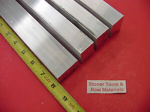 4 Pieces 1 X 1 1 2 Aluminum 6061 T6511 Flat Bar 8 Long 1 000 Plate Mill Stock