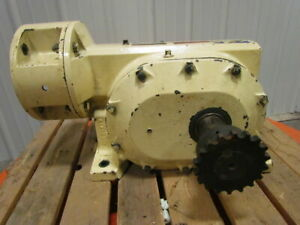 Reliance Electric Master Xl 180cm28a 86 1 Ratio Speed Reducer Gear Box 180 Frame