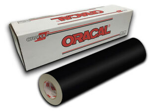 24 X 30yd Black Gloss Oracal 651 Intermediate Graphic Sign Cutting Vinyl