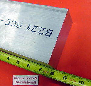 1 x 4 Aluminum Flat Bar 8 Long 6061 T6511 Solid Extruded Plate Mill Stock