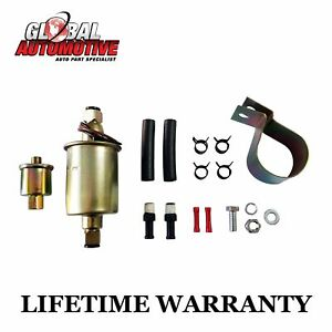 New Universal 12v Electric Fuel Pump Installation Kit 4 9 Psi 30 Gph Ga8012s