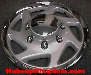 New 1995 2011 Ford Truck F250 F350 Van E250 E350 16 W Chrome Wheelcover Hubcap