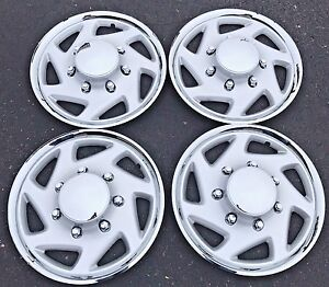 New 1995 2011 Ford Truck F250 F350 Van E250 E350 16 Wheelcover Hubcap Set Of 4