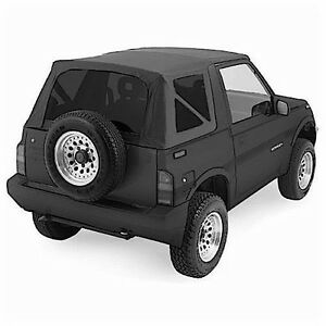 1988 1994 Suzuki Sidekick Geo Tracker Soft Top Black With Tinted Windows