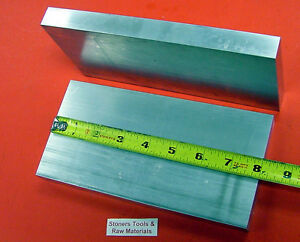 2 Pieces 1 X 4 Aluminum 6061 Flat Bar 8 Long 1 000 Solid T6511 Mill Stock