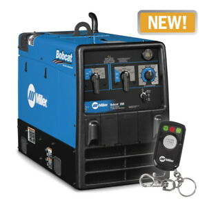 Miller Bobcat 250 Welder generator With Efi 907502