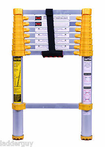 750p Xtend Climb 8 5 Telescoping Extension Ladder Extend And Brand New