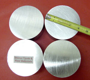 4 Pieces 4 Aluminum 6061 Round Solid Rod 1 2 Long T6 Extruded Lathe Bar Stock
