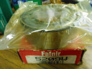 New Fafnir Torrington 5209w Ball Bearing 1 13 16 wq 110