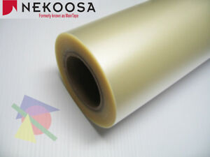 24 X 100 Yds Nekoosa Preview Plus Gxf 100 Clear Transfer Tape