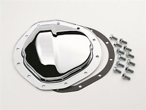 Chrome Differential Cover Gm 8 875 In Truck 12 Bolt Steel Chrome Steel