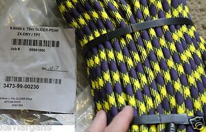 9 9mm X 70 Meters 230ft New England Glider peak 2x dry tpt Dynamic Climbers Rope