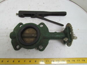 Centerline 53 3 Wafer Style Butterfly Valve 200 Series W 36 Handle Extension