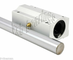 20mm Cnc Router 60 Shaft W block Bearing Linear Motion 659