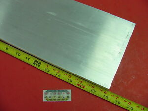 3 4 X 6 Aluminum 6061 Flat Bar 18 Long T6511 Solid Plate New Mill Stock 75