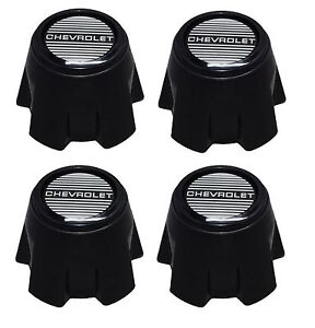 New 1981 1985 Chevy Monte Carlo Ss 15 Steel Rally Wheel Hub Center Cap Set Of 4