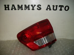 Jeep Grand Cherokee Lh Tail Light 11 12 13 2011 2012 2013 Used