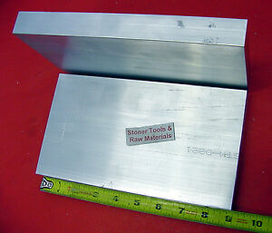 2 Pieces 1 X 5 Aluminum 6061 Flat Bar 9 Long Solid 1 000 Plate Mill Stock