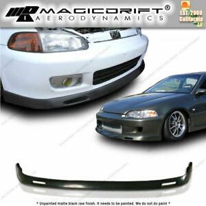 92 95 Honda Civic Eg 2 3dr Front Bumper Lower Lip Spoiler Backyard Bys Style Jdm