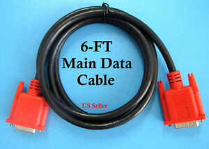New Snap On Mt2500 Solus Pro Modis Scanner Data Cable Replaces Mt2500 5000 6ft