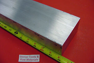 2 X 4 Aluminum 6061 Flat Bar 18 Long Solid T6 2 00 x 4 00 New Mill Stock