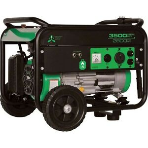 Propane Generator 3500 Surge Watts 2800 Rated Watts 6 5 Hp Carb