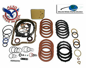 Dodge A727 Transmission Rebuild Kit High Performance Kit Stage 3 Red Kolene Tf8