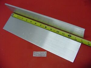 2 Pieces 3 8 X 6 Aluminum 6061 Flat Bar 14 Long 375 Plate Mill Stock T6511