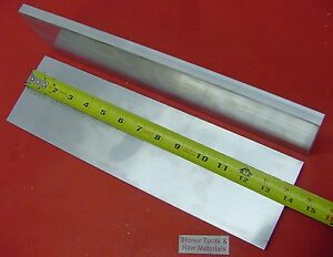 2 Pieces 1 2 X 6 Aluminum 6061 Flat Bar 14 Long Solid 50 Plate Mill Stock