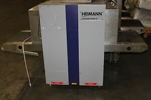 Heimann X ray Inspection 6040 a Security X ray Scanner Hi scan