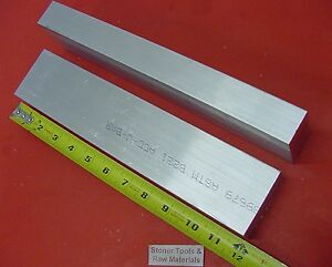 2 Pieces 1 X 3 Aluminum 6061 Flat Bar 12 Long Solid 1 00 Plate Mill Stock