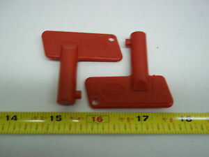 240019 Sellick Forklift Key Lot Of 2
