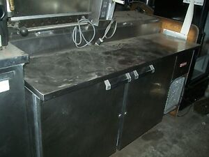 Pizza Sandwich Prep Table 6 Ft New Board And Pans 115 V 900 Items On E Bay