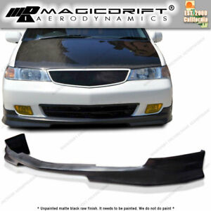 99 04 Honda Odyssey Vip Van Jdm Front Bumper Add on Lip Body Kit Urethane Pu Pp